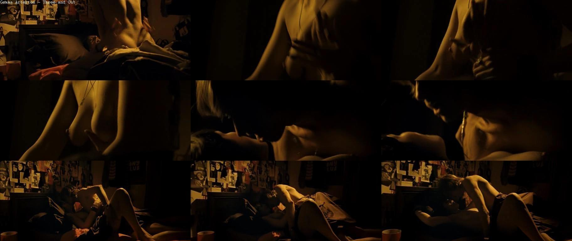 gemma arterton sex scene three and out